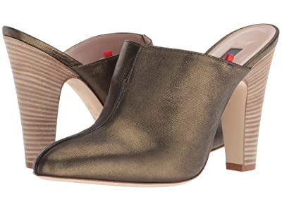 SJP by Sarah Jessica Parker Rigby (Olive Metallic Leather) Women
