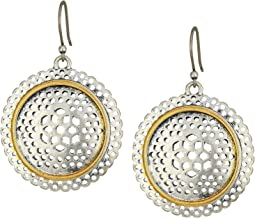 Lucky Brand - Openwork Circle Earrings