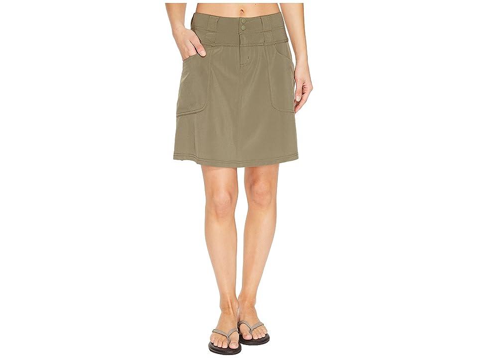 ExOfficio Kizmet Skirt (Bay Leaf) Women