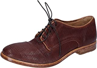 MOMA Oxfords Womens Leather Brown