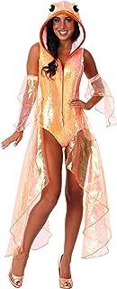 Womens Glittering Goldfish Costume