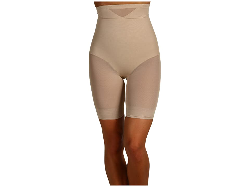 Miraclesuit Shapewear - Miraclesuit Shapewear Extra Firm Sexy Sheer Shaping Hi-Waist Thigh Slimmer