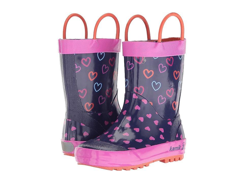 Kamik Kids Cherish (Infant/Toddler) (Purple) Girls Shoes