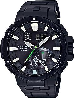 [カシオ] 腕時計 プロトレック 電波ソーラー PRW-7000FC-1JF ブラック