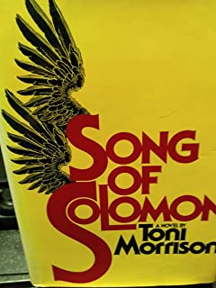 Song of Solomon [Deckle Edge] (text only) 1st (First) edition by T. Morrison
