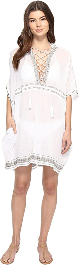 Isabell Short Caftan Cover-Up