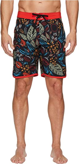 VISSLA - Night Crawler Four-Way Stretch Boardshorts 18.5