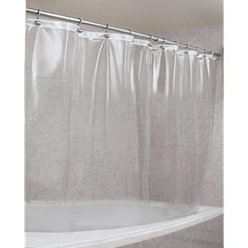 Epica Strongest Mildew Resistant Shower Curtain Liner On The Market 100 Anti Bacterial