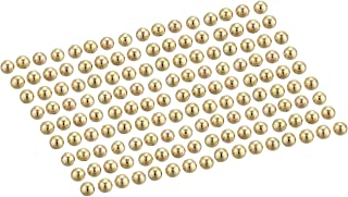 Beadalon 144-Piece 5-MM Round Memory Wire End Cap, Gold Plate