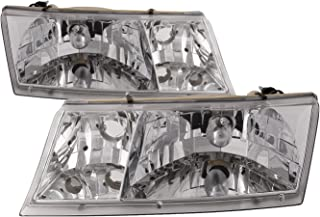 HEADLIGHTSDEPOT Compatible with Newmar Mountain Aire 37 FT 2000-2004 Motorhome RV Front Headlights Set