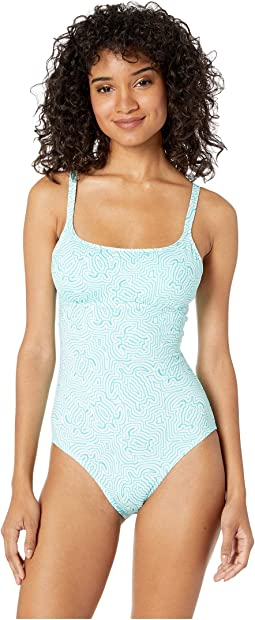 Tortues Hypnotiques One-Piece Swimsuit
