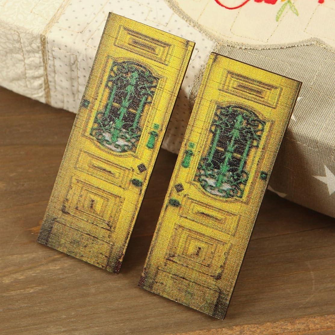 Prima Marketing Wood Doors Embellishment 4