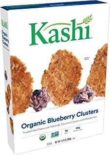 Kashi Organic Blueberry Clusters Breakfast Cereal - Non-GMO Project Verified, 13.4 oz Box