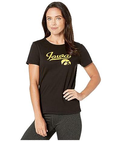 Champion College Iowa Hawkeyes University Tee (Black) Women
