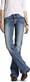 ARIAT Women's R.e.a.l. Mid Rise Boot Cut Jeans