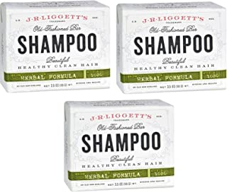 J·R·LIGGETT'S All-Natural Shampoo Bar, Herbal Formula - Supports Strong and Healthy Hair - Nourish Follicles with Antioxid...