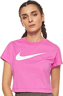 Nike Women's NSW SWSH TOP CROP SS T-Shirt
