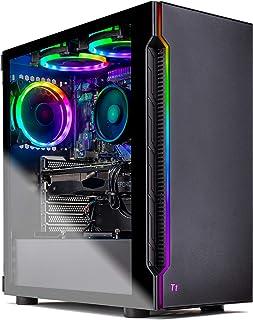 Skytech Shadow Gaming Computer PC Desktop - AMD Ryzen 3 3100, GTX 1660 6G, 16GB DDR4 3000, 1TB SSD, A520 Motherboard, 500W...