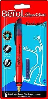 Berol Handwriting Fountain Pen with Medium Nib - Blue