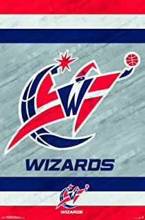 Trends International Washington Wizards Logo Wall Poster 22.375