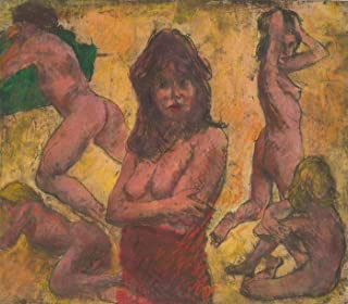 nude etchings