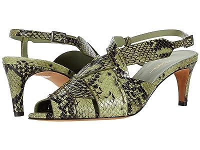 3.1 Phillip Lim Nina 60 mm Woven Sandal (Pale Green) Women