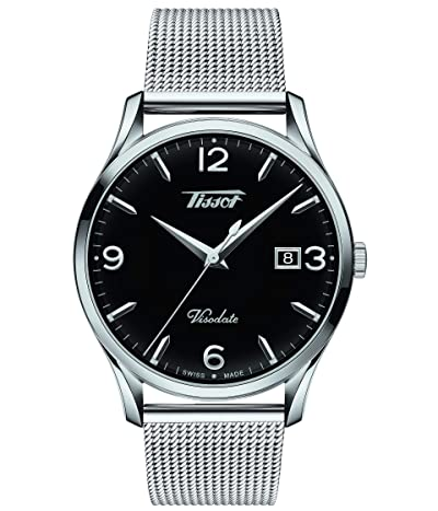 Tissot Heritage Visodate T1184101105700 (Silver/Black) Watches