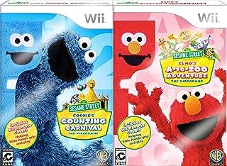 Sesame Street Play & Learn Bundle (Cookie & Elmo) - Nintendo Wii