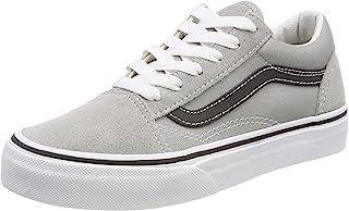 Vans Kids Old Skool VN0A38HBQ7L Drizzle/Black Skate Shoes