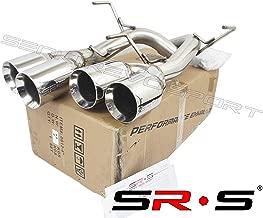 SRS Axleback Exhaust POLISH FOR 15-19 SUBARU WRX/STI 4