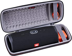 XANAD Hard Case for JBL Charge 4 Speaker - Travel Carrying Storage Protective Bag (Grey)
