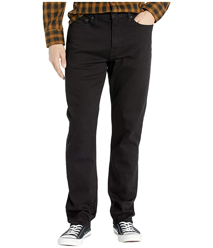 Lucky Brand  410 Athletic Fit Jeans in Black Rinse (Black Rinse) Mens Jeans