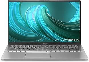 "Asus Vivobook 15 Thin and Light Laptop, 15.6"" Full HD, AMD Quad Core R5-3500U CPU, 8GB DDR4 RAM, 128GB SSD + 1TB HDD, AMD Radeon Vega 8 Graphics, Windows 10 Home, F512DA-EB55-SL, Transparent Silver"