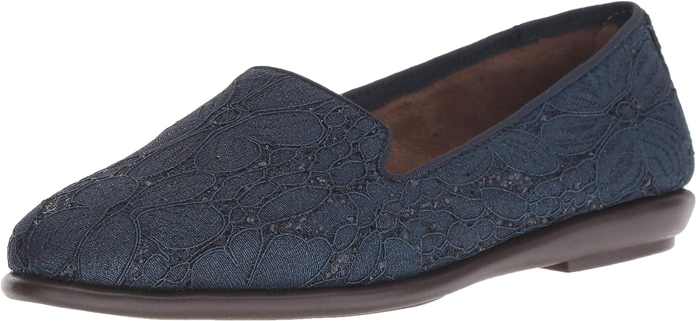 Aerosoles Damen Betunia, schwarzes Leder, 35 M EU  | Spezielle Funktion
