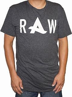ジースターロウ G-STAR RAW 半袖Tシャツ アフロジャック コラボレーションモデル グレー メンズ