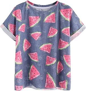 banana print t shirt