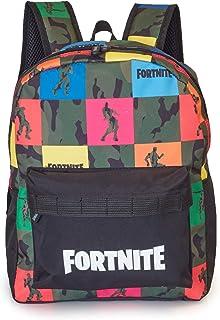 Fortnite Mochilas Escolares Juveniles Para Niños, Mochila Diseño Camuflaje, Bolsa Para el Colegio Viajes Deporte, Merchandising Oficial de Fortnite, Regalos Originales Para Niños Adolescentes