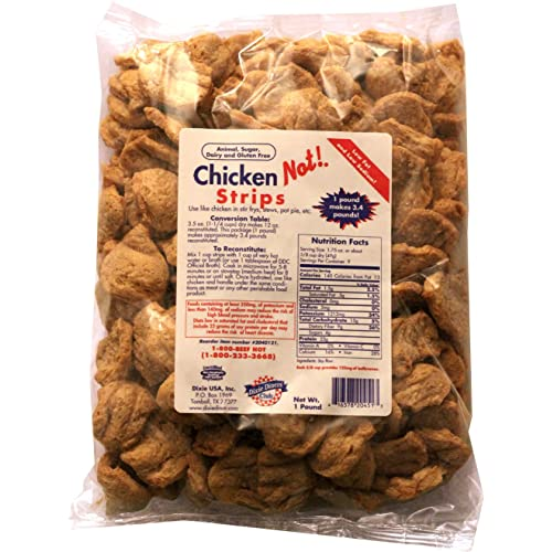 Dixie Diners' Club - Chicken (Not!) Strips, 1 lb bag
