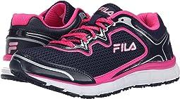 Fila Navy/Pink Glo/White