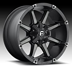 FUEL Coupler MBT-Matte BLK DDT Wheel with Painted (20 x 10. inches /5 x 139 mm, -12 mm Offset)