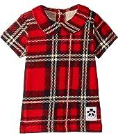 mini rodini - Check Collar Tee (Infant/Toddler/Little Kids/Big Kids)