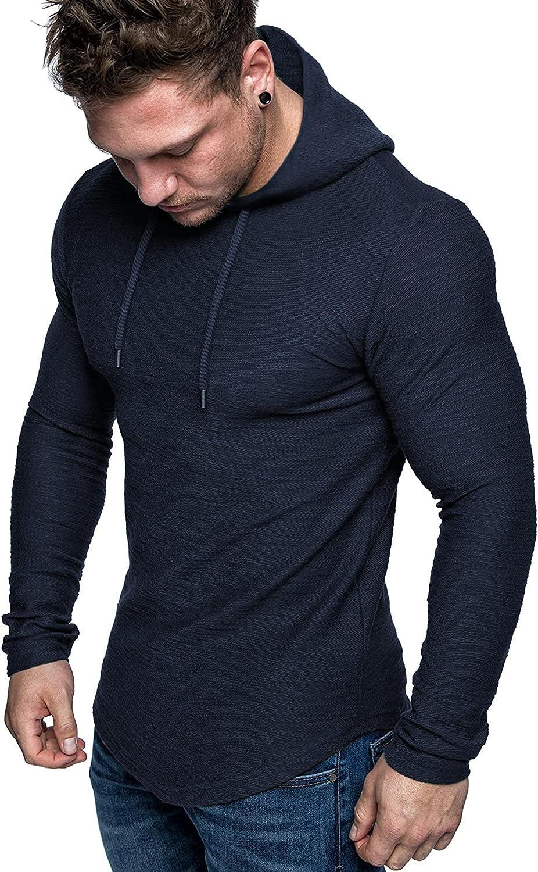 COOFANDY Mens Gym Workout Hoodies Athletic Bodybuilding Muscle Lightweight Hooded Sweatshirts