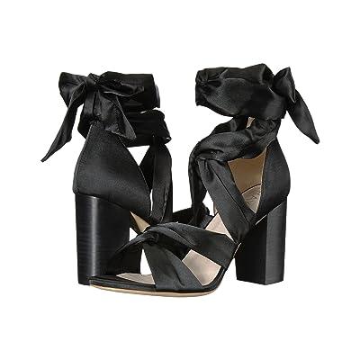 RAYE Myra (Black Satin) High Heels