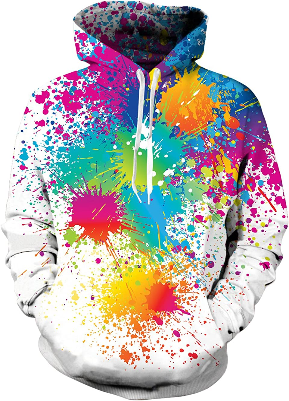 UNIFACO Unisex Realistic 3D Max 79% OFF Print Galaxy Pullover Hoodie P Funny Wholesale