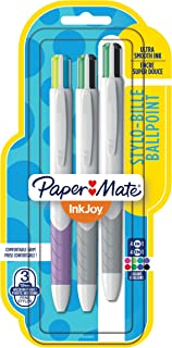 Paper Mate InkJoy Quatro Retractable Ballpoint Pens, Medium Point, Assorted, 3 Pack (1945905)