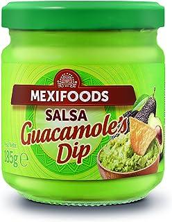 comprar comparacion Mexifoods Salsa Guacamole - 6 Paquetes de 185 gr - Total: 1110 gr
