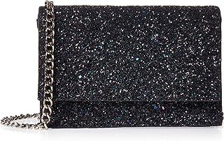 حقيبة يد للنساء من ناين ويست لون اسود، NW60484715-BLACK-BLACK
