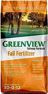 Greenview 2129858 Fairway Formula Fall Fertilizer - 22.5 lb - پوشش 7500 فوت مربع ، چند