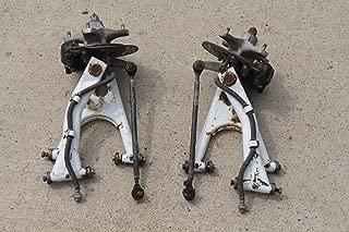 Yamaha Banshee factory J-arms brakes hubs spindles rotors 1987-1990 White A-4