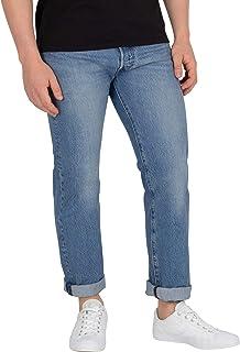 Levi's Erkek Düz Kesim Kot Pantolon 501 LEVI'SORIGINAL FIT PIPE LIGHT, Mavi, W55 (Üretici Ölçüsü 32)